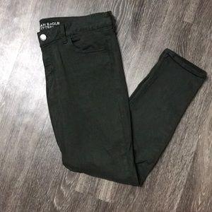 Hunter Green Jegging Pants